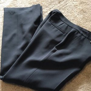 Slate gray dress trousers
